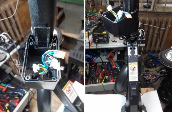 фото до и после ремонта электросамоката
